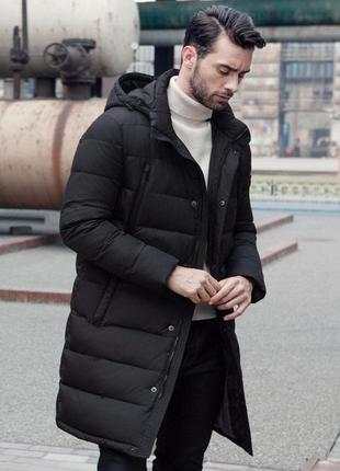 Мужская длинная куртка,парка..отличное качество с,м,л,хл