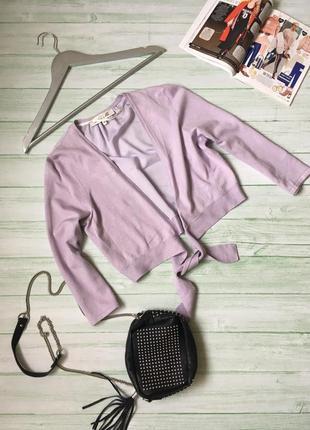 Кофта нежно фиолетовая damsel in a dress шифон