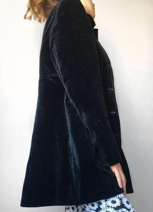 Велюровый жакет, пальто, пиджак