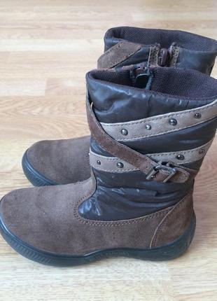Зимние термо ботинки naturino германия 26 размера в идеальном состоянии