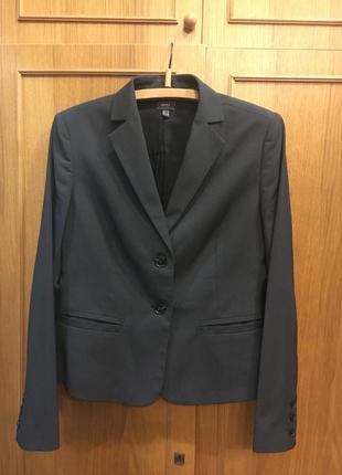 Серый пиджак блейзер mexx