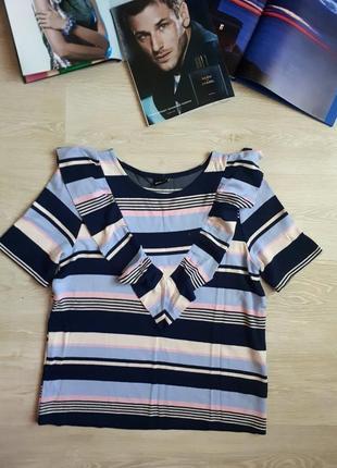 Блуза с воланом / 2я вещь в подарок