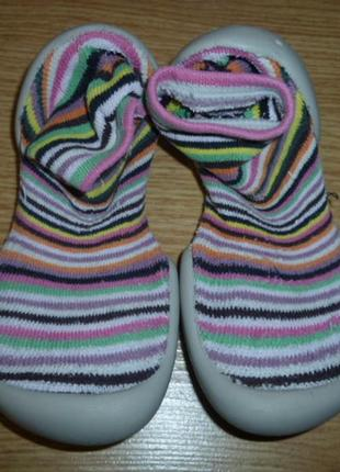 Фирменные тапочки-носочки