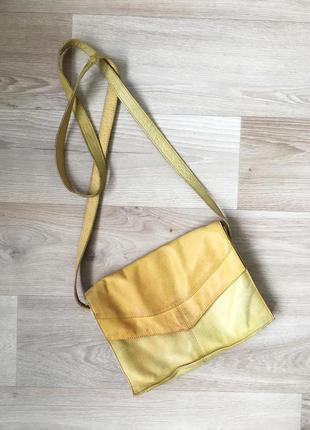Кожаная сумка zign