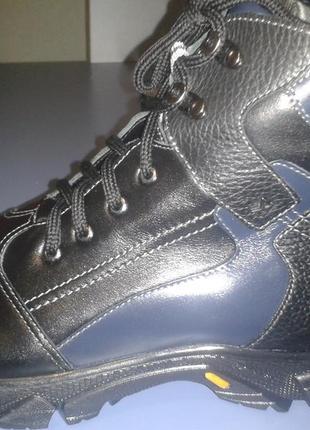 Зимние полностью кожаные ботинки тм каприз от лидер, размер 37