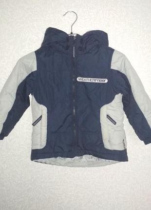Куртка парка для мальчика weatherproof