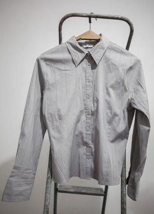 Нежная и стильная стрейчевая блуза