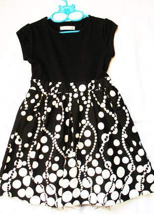 Очень красивое летнее платье matalan, 5-7 лет. в отличном состоянии.