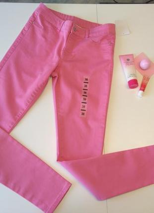 Рожеві джинси скіні c&a