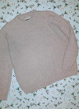 Теплый мужской вязаный свитер george в стиле кэжуал, размер 52-54, большой размер