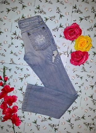 Стильные джинсы клёш с потертостями dolce&gabbana, размер 44-46