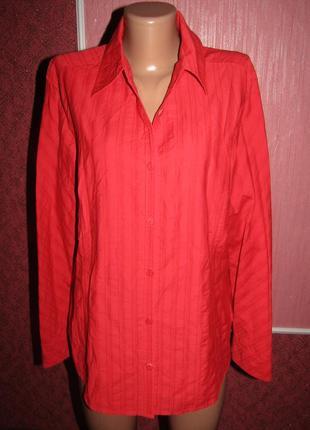 Рубашка р-р 14-16 бренд cecil