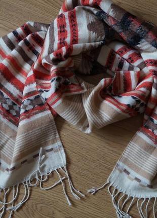 Тёплый шарф палантин от h&m