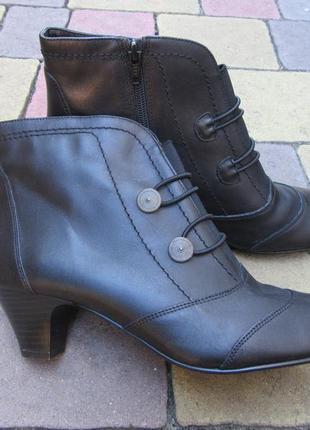 Новые ботинки натуральная кожа confortissimo италия