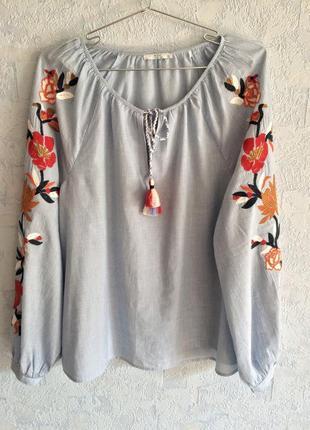 Шикарная этно блузка от edc