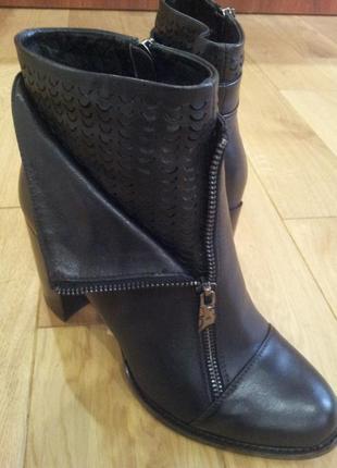 Демисезонные кожаные ботинки molared 40 р. новые