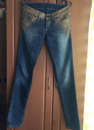 Стильные джинсы с напылением freesoul