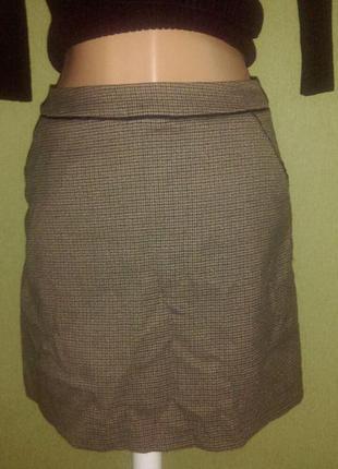 Красивая мини юбка с карманами