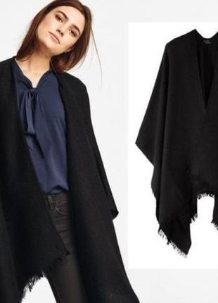 Скидка -50% на вторую вещь роскошное пончо накидка шарф платок esmara by heidi klum