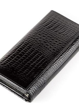 Кошелек женский balisa 13851 кожаный черный