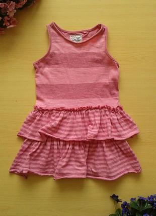 Платье/сарафан next, 3 года 98 см, 100% хлопок