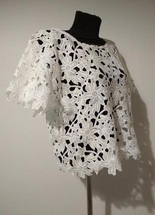 Кружевная блуза /футболка