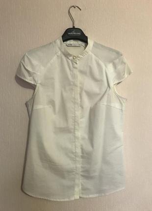 Кремовая блузка (рубашка) oodji