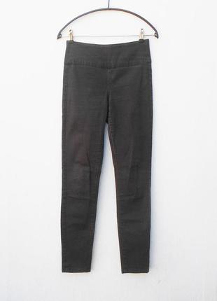 Коричневые джинсы высокая талия