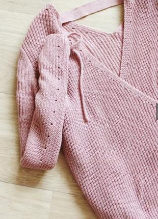 Нежный свитерок оверсайз🤗