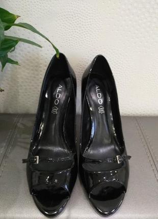 Туфли на каблуке aldo, туфли-лодочки