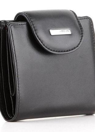 Кошелек женский karya 17162 кожаный черный