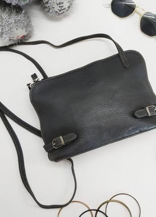 Компактная сумка ritelle, франция, натуральная кожа