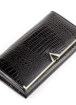 Кошелек женский balisa 13854 кожаный черный