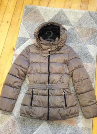 Дуже теплий пуховик, італія (пуховая куртка, италия)