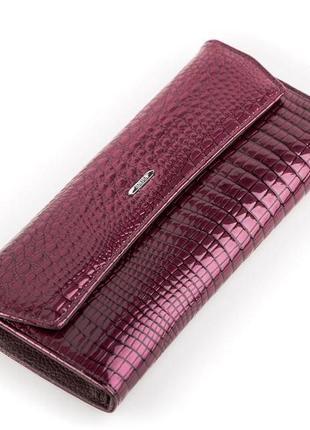 Кошелек женский balisa 13863 кожаный фиолетовый