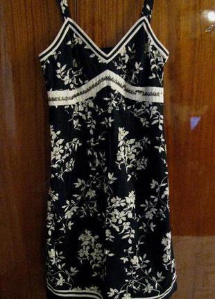 Натуральное платье-сарафан next m-l