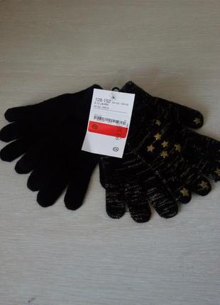 Перчатки c&a 128-152 см
