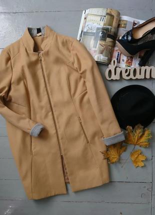 Актуальное прямое пальто пиджак