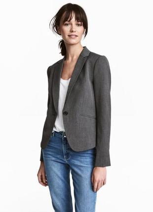Приталенный пиджак от h&m (огромный выбор пиджаков)