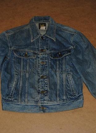 Lee женская куртка джинсовка джинсовая лии