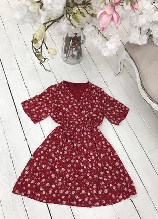 Очень красивое платье в цветочный принт new look