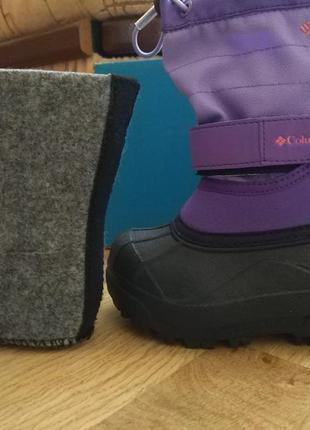 Ботинки columbia тёплые зимние из америки