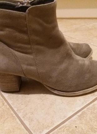Ботинки 39р.