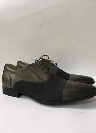 Стильні чоловічі туфлі san marina на стопу 26,5 см