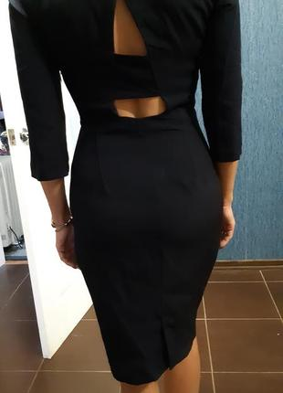 Платье футляр миди zara