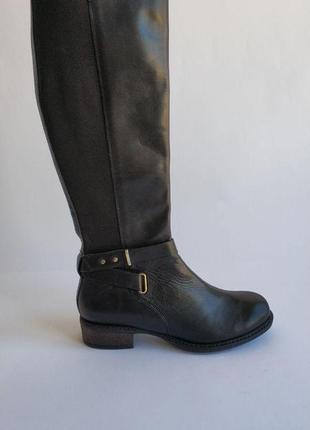 Кожаные сапоги 36р new look