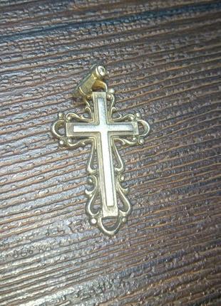 Крестик серебряный из серебра серебро крест