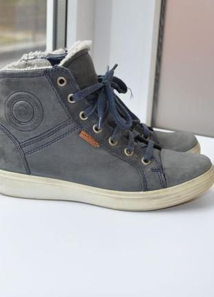 Зимние ботинки ecco 36р 23см