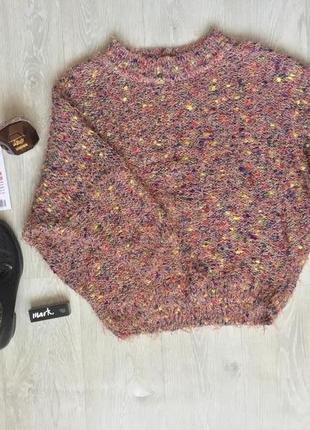 Крутой мохнатый свитер летучая мышь
