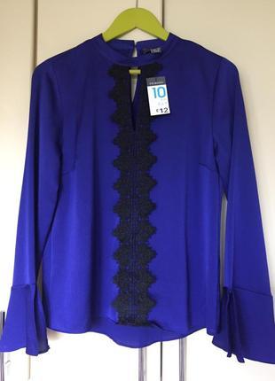 Стильная блуза с кружевной отделкой primark